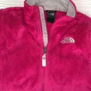 North Face sweatshirt with full zipper